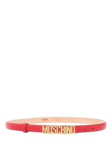 Moschino Kemer Kırmızı